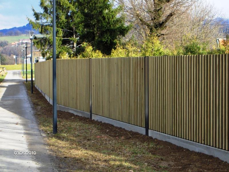 Parois anti bruit ap architecture paysag re sa bulle for Paroi anti bruit exterieur